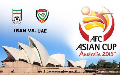 دانلود مسابقه فوتبال ایران و امارات در جام ملتهای آسیا 2015