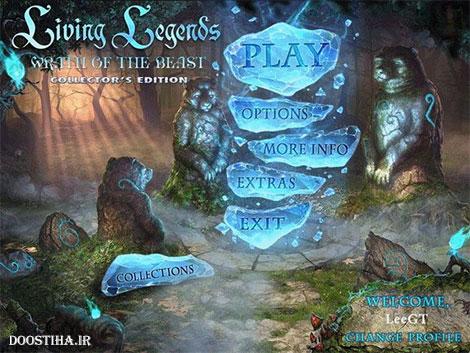 دانلود بازی Living Legends 3: Wrath of the Beast Collector's Edition