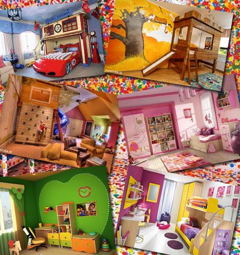 مدل های فانتزی اتاق کودک و دکوراسیون خلاقانه اتاق بچه