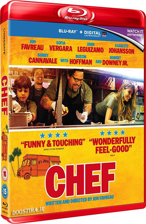 دانلود فیلم سرآشپز با دوبله فارسی Chef 2014 BluRay