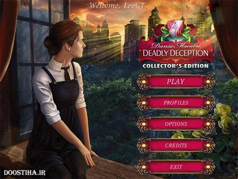 دانلود بازی Danse Macabre 3: Deadly Deception Collector's Edition