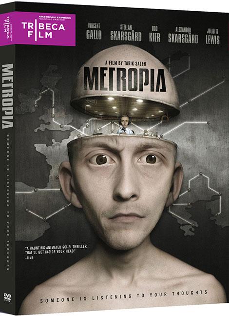دانلود انیمیشن متروپیا Metropia 2009
