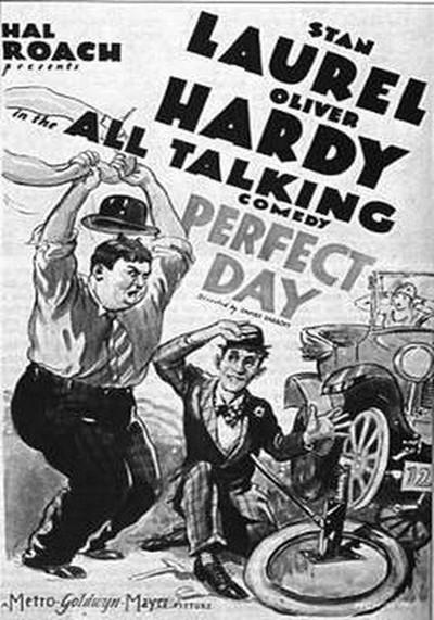 دانلود رایگان فیلم یه روز عالی با دوبله فارسی Perfect Day 1929