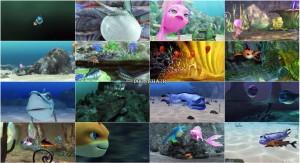 دانلود انیمیشن طعمه کوسه با دوبله گلوری Shark Bait 2006