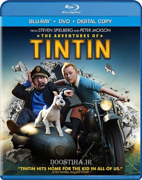 دانلود انیمیشن ماجراهای تن تن با دوبله فارسی The Adventures of Tintin 2011