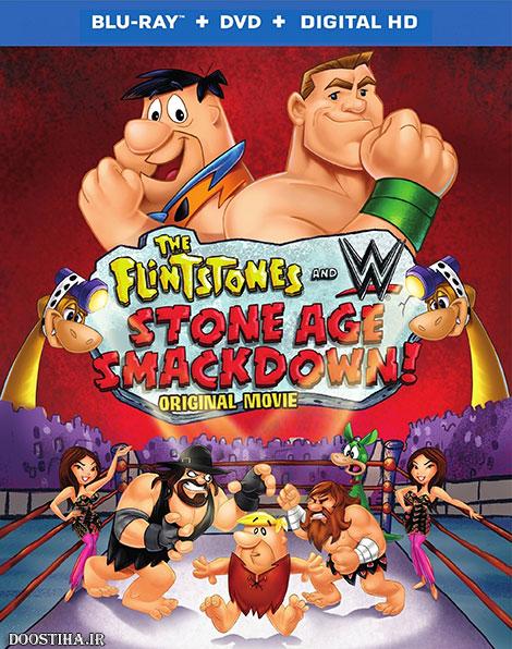 دانلود انیمیشن The Flintstones and WWE: Stone Age Smackdown 2015