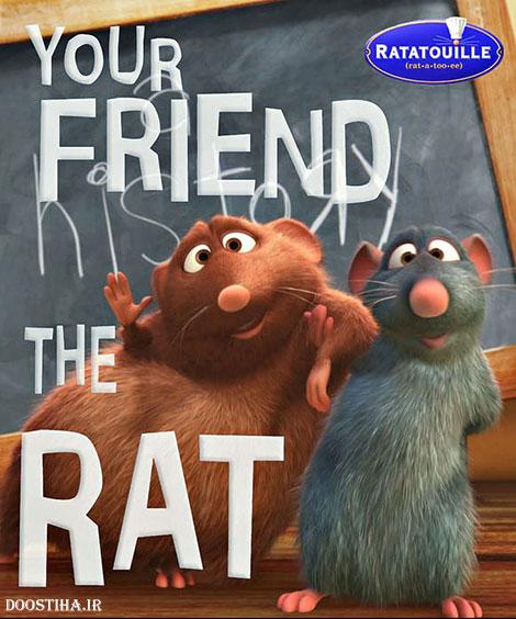 دانلود انیمیشن کوتاه Your Friend the Rat 2007