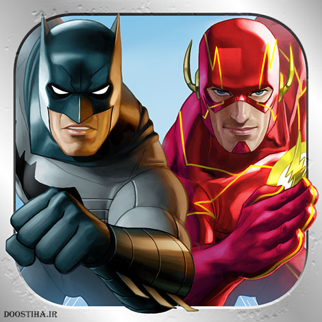 دانلود بازی Batman & The Flash: Hero Run v2.1.1