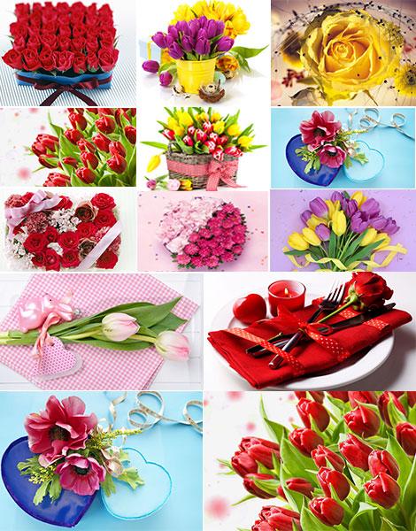 زیباترین والپیپرهای گل و هدیه Beautiful Flowers and Gift Wallpapers