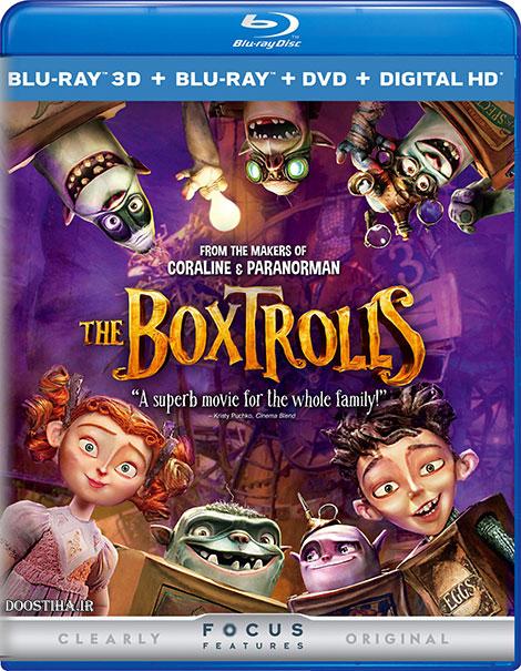 دانلود دوبله فارسی انیمیشن The Boxtrolls 2014