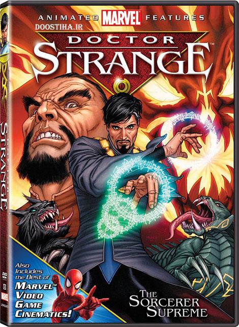 دانلود رایگان انیمیشن دکتر عجیب با دوبله فارسی Doctor Strange 2007