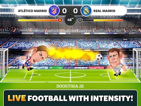 دانلود بازی هدزنی در لالیگا Head Soccer La Liga v1.0.6