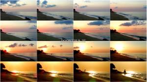 فیلم آرامبخش امواج اقیانوس در هنگام طلوع آفتاب Relaxing Ocean Waves at Sunrise