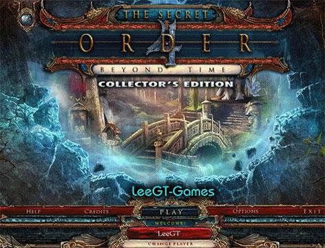دانلود بازی فکری The Secret Order 4: Beyond Time Collector's Edition