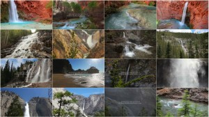 Waterfalls of the World - Healing Nature Relaxation Video