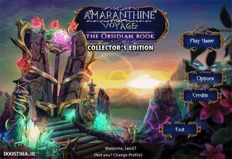 دانلود بازی Amaranthine Voyage 4: The Obsidian Book Collector's Edition