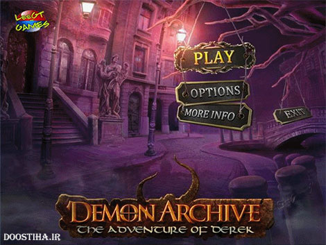 دانلود بازی Demon Archive: The Adventures of Derek Final