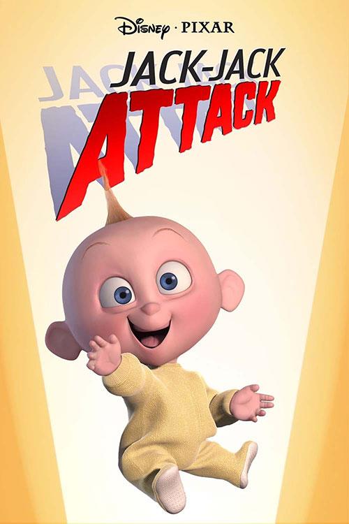 دانلود انیمیشن کوتاه پیکسار با نام Jack-Jack Attack 2005