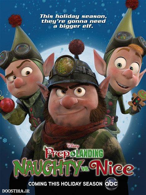 دانلود دوبله فارسی انیمیشن Prep and Landing: Naughty vs. Nice 2011