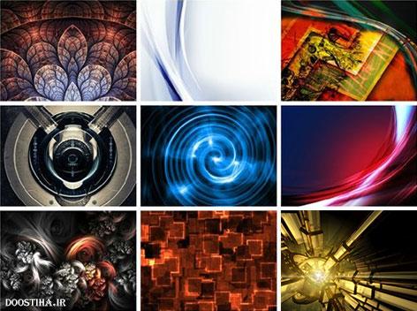 والپیپر انتزاعی و عکس آبستره Abstract Wallpapers HD
