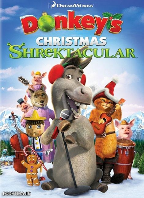 دانلود انیمیشن Donkey's Christmas Shrektacular 2010