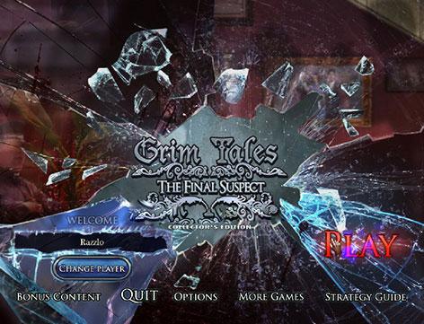 دانلود بازی Grim Tales 8: The Final Suspect Collector's Edition