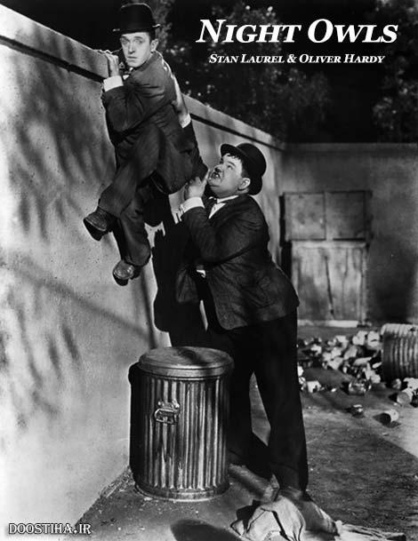 دانلود دوبله فارسی فیلم شب زنده داران Night Owls 1930