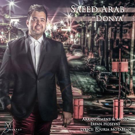 دانلود آهنگ جدید سعید عرب به نام دنیا