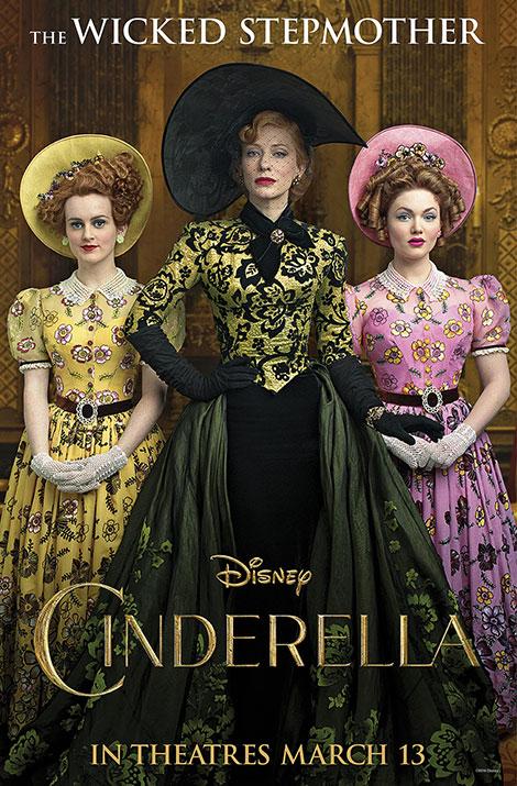 دانلود فیلم سیندرلا با دوبله فارسی Cinderella 2015 BluRay