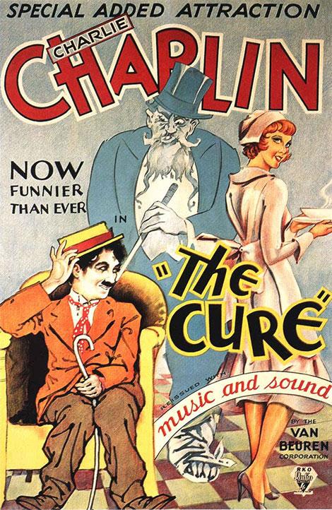 دانلود فیلم چارلی چاپلین به نام درمان The Cure 1917