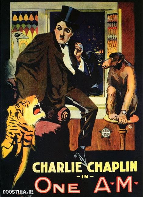 دانلود فیلم کوتاه چارلی چاپلین One A.M. 1916