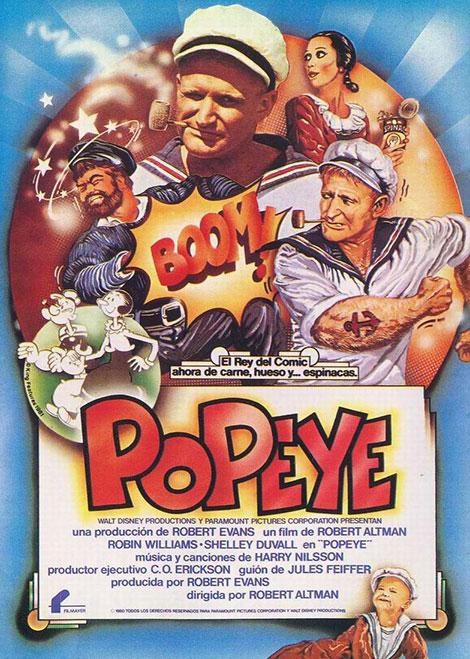 دانلود دوبله فارسی فیلم ملوان زبل Popeye 1980