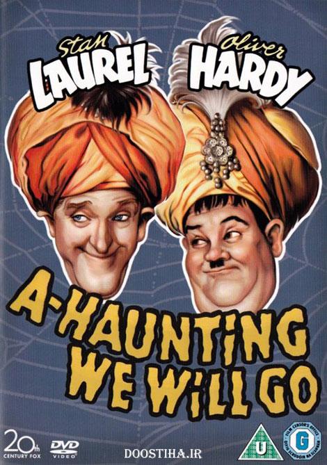 دانلود دوبله فارسی فیلم شعبده باز A-Haunting We Will Go 1942
