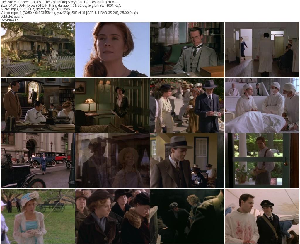 دانلود رایگان فیلم های آنشرلی Anne Of Green Gables Collection