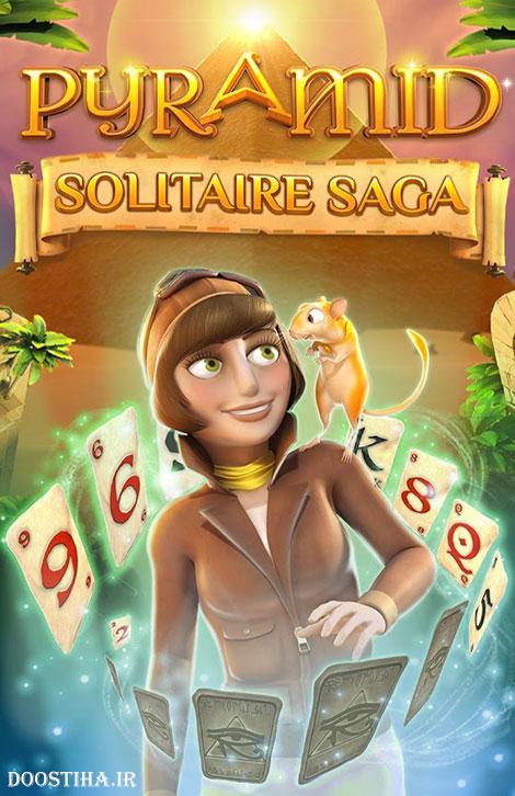 دانلود بازی فکری و حماسی هرم Pyramid Solitaire Saga 1.26.1