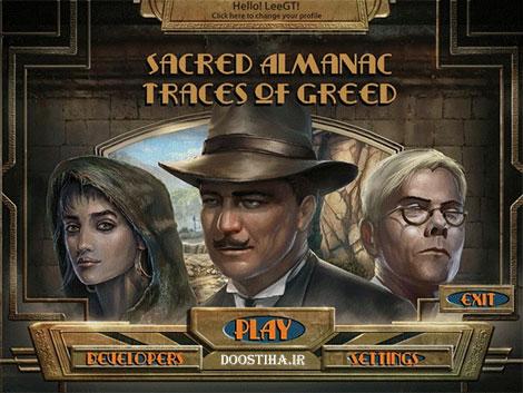 دانلود بازی Sacred Almanac: Traces of Greed Final