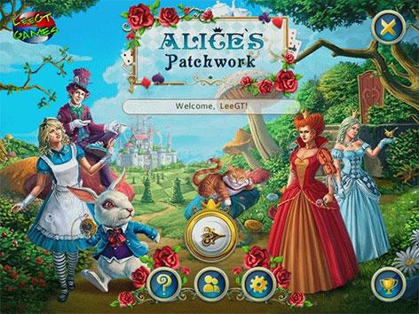 دانلود بازی پازلی آلیس Alice's Patchwork Final