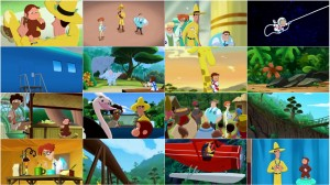 Curious George 3 - Back to the Jungle 2015