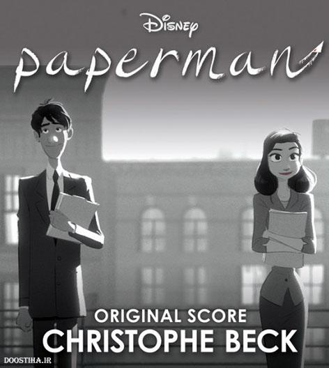 دانلود انیمیشن مرد کاغذی Paperman 2012