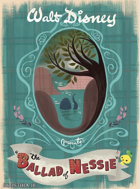 دانلود انیمیشن کوتاه The Ballad of Nessie 2011
