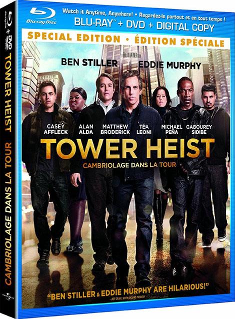 دانلود رایگان دوبله فارسی فیلم سرقت از برج Tower Heist 2011