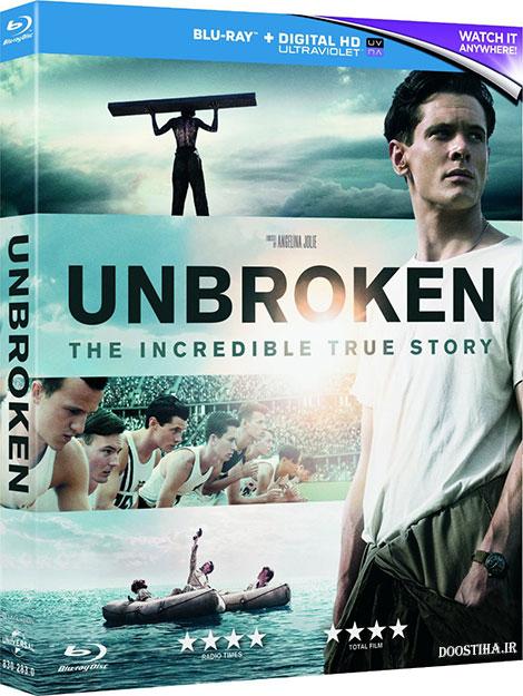 دانلود رایگان دوبله فارسی فیلم شکست ناپذیر با کیفیت بلوری Unbroken 2014