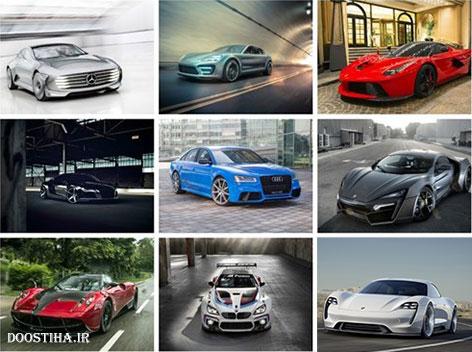 دانلود 60 والپیپر از اتومبیل های اسپرت Sports Cars Wallpaper