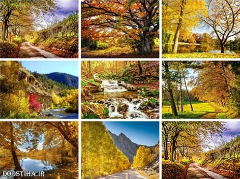 دانلود والپیپر پاییز, دانلود عکس پس زمینه از پائیز, دانلود پوستر و کاغذ دیواری پاییزی Beautiful Autumn HD Wallpapers