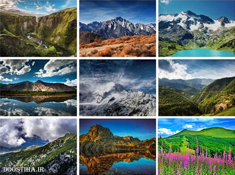 دانلود والپیپرهای کوهستان Beautiful Mountain HD Wallpapers
