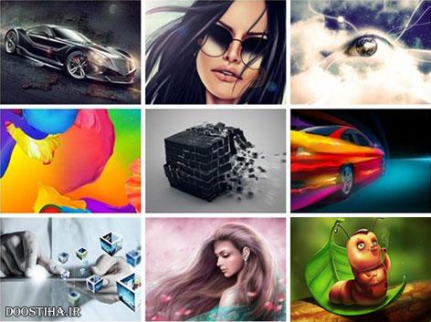 دانلود والپیپرهای هنری و خلاقانه Creative Art HD Wallpapers