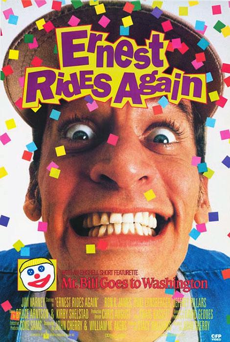 دانلود دوبله فارسی فیلم Ernest Rides Again 1993