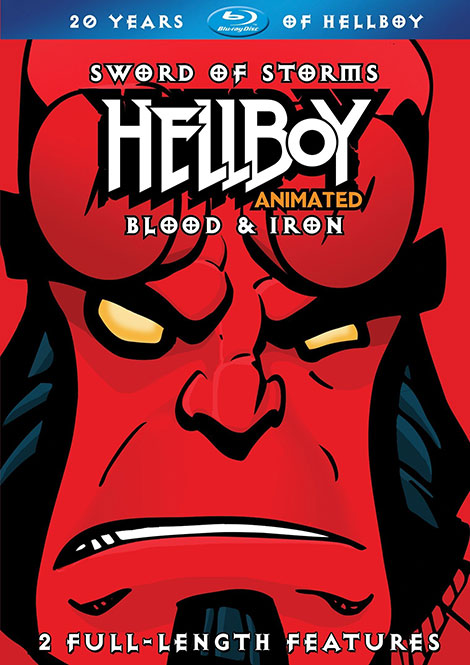 دانلود انیمیشن Hellboy Animated: Blood and Iron 2007