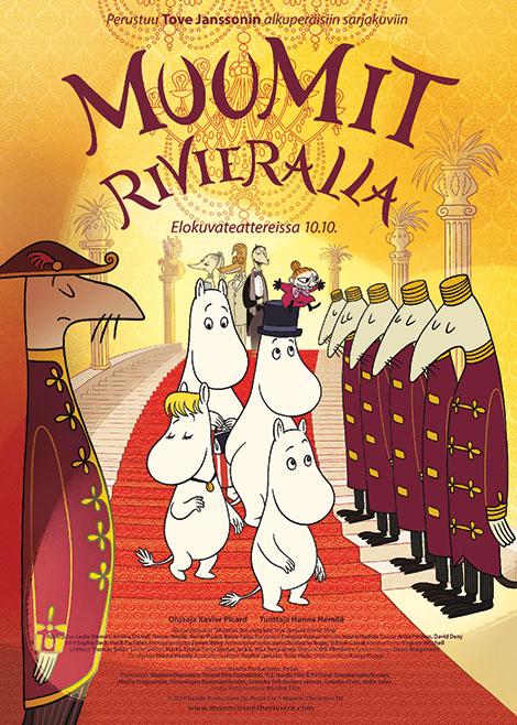 دانلود انیمیشن Moomins On The Riviera 2014