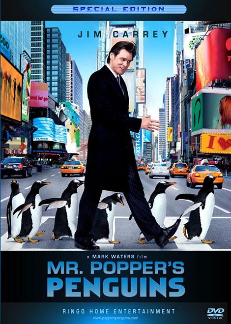 دانلود دوبله فارسی فیلم پنگوئن های آقای پاپر Mr. Popper's Penguins 2011